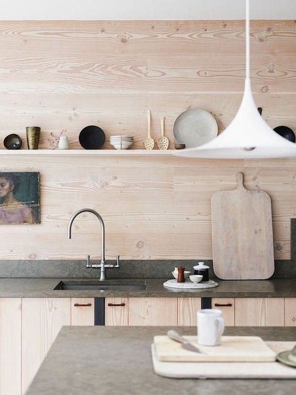 10 Modern Kitchens With Natural Wood Cabinets | Apartment Therapy