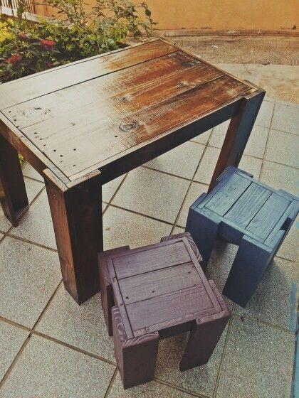 15 best images about mesas de pallets on pinterest mesas for Mesa de pallet