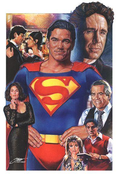 Lois and Clark--The Adventures of Superman Montage by SteveStanleyArt.deviantart.com