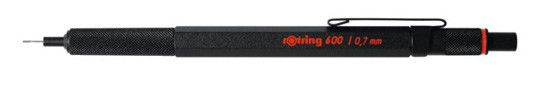 Rotring 600 Series Black .7mm Pencil