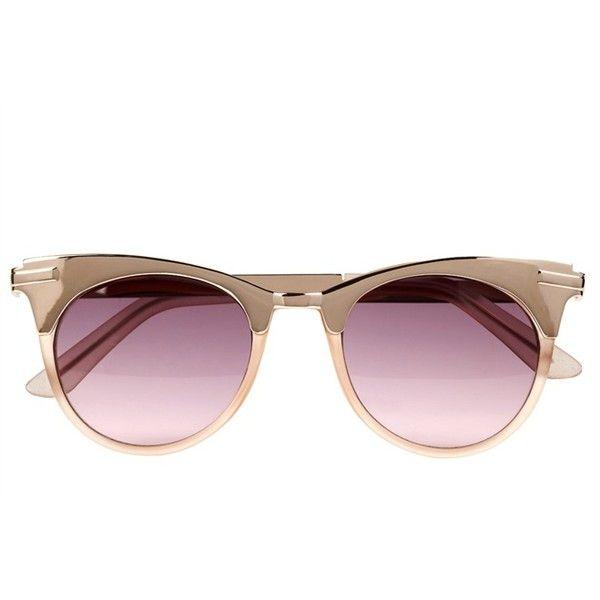 David Locco Sonnenbrille Sparkling, UV 400 lila