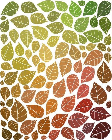 Leaves Print Autumn Art Seasonal Decor Fall Decorations Leaf Illustration…