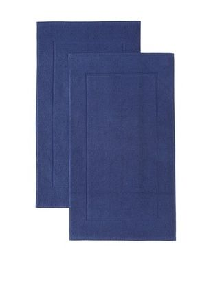 Espalma Set of 2 Prestige Tub Mats (Patriot Blue)