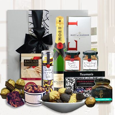 Champagne & Gourmet Treats - A gift designed for celebrating a special occasion, an achievement or milestone - $189