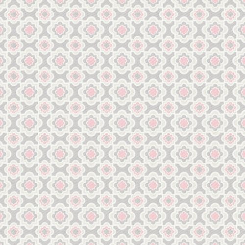 Fabric By The Yard To Match Nursery Bedding Pink And Gray Fl Check Carousel