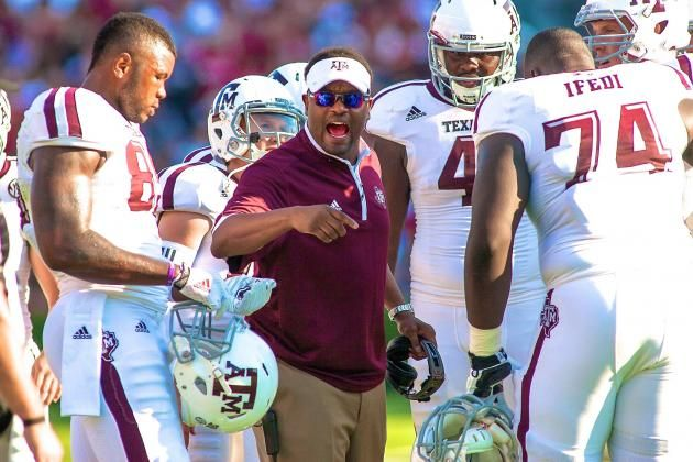 Opening Night Demolition Shows Kevin Sumlin More Valuable Than Johnny Manziel