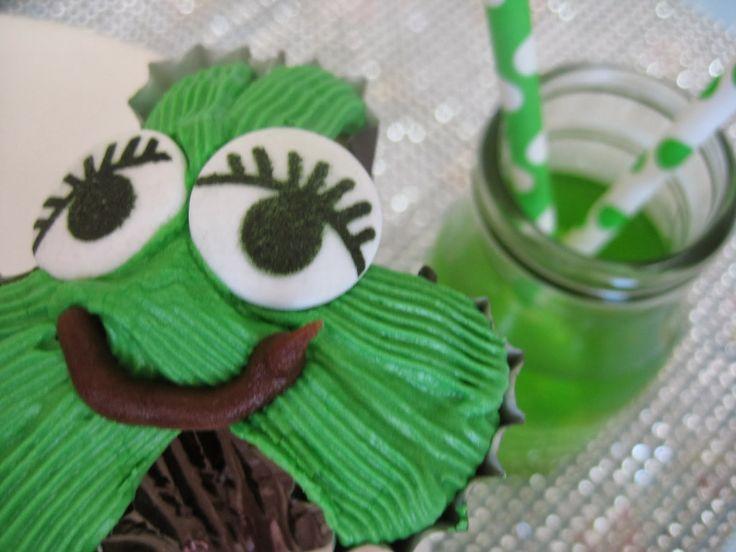 Kiwi Cakes: Shamrock Lime Cupcake Creatures - from Kiwicakes test kitchen
