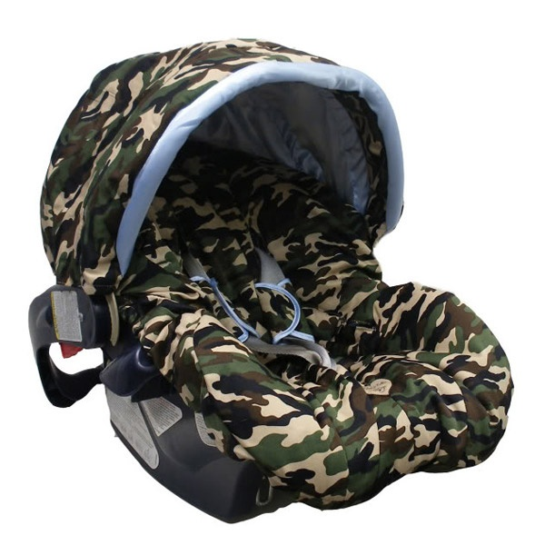 Camo Car Seat Cover Perfect For A Military Baby Boy