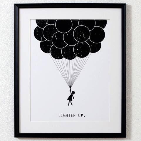 Lighten up.