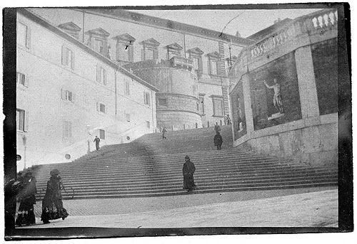 Rome 1903. Palazzo del Quirinale. #TuscanyAgriturismoGiratola