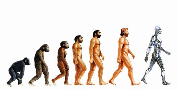 This is human evolution based on Technological Determinism - (critique)