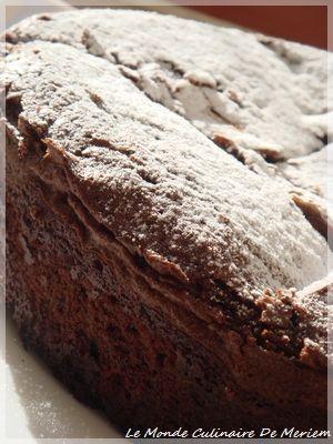 Gâteau ultra fondant, simple a réaliser, pour les amoureux de gâteaux au chocolat.