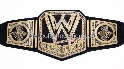Wwe Randy Orton Championship Belt Birthday Edible Image