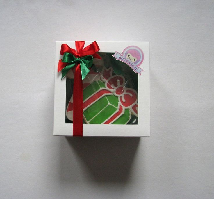 christmas cookie box gift