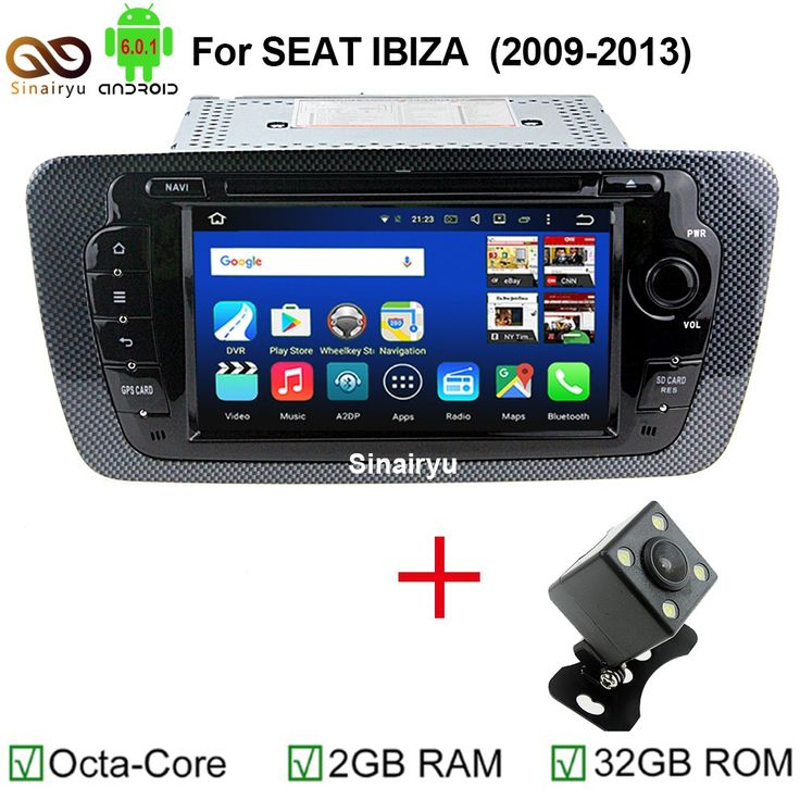 Best price US $407.13  HD 1024X600 Android 6.0.1 Octa Core CPU 2GB RAM 32GB ROM Car DVD Player Head Unit for Seat Ibiza 2012 2013 2014 GPS Radio Stereo  #Android #Octa #Core #Player #Head #Unit #Seat #Ibiza #Radio #Stereo  #Internet
