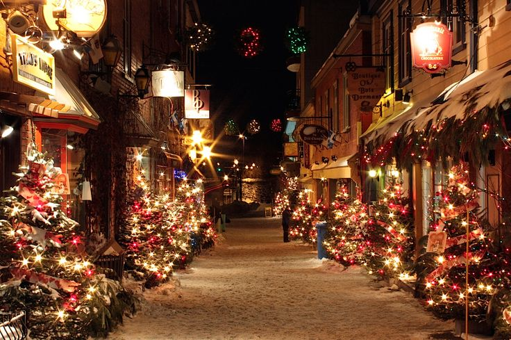 quebec city's petit champlain neighbourhood at christmas. estabilished in 1608, it is the oldest commerical district in north america.   photos by (click pic) patrick langlois, jean romain roussel, christina ann, pamela macnaughtan, steve leclerc, gaetan bourque, luckyquebec and dawna moore