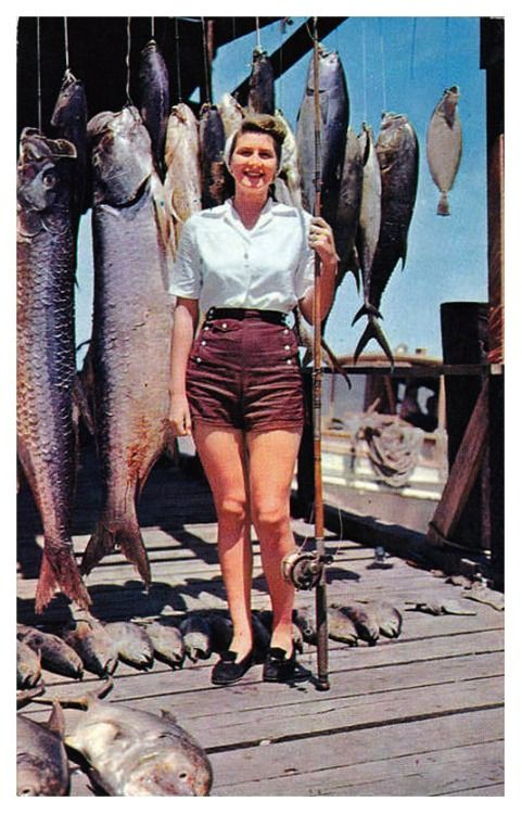 "Dauphin Island, Alabama, 1950s ""Dauphin Island is the ..."