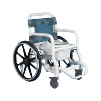 Duralife Deluxe Self Propelled Shower and Commode Chair,Each,1300 Price: 889.50 Retail Price: 1,227.90 1300 Health Products For You DURALIFE 1300 Exercise & Mobility > Wheelchair > Manual Wheelchairs > Bathroom/Shower Wheelchairs