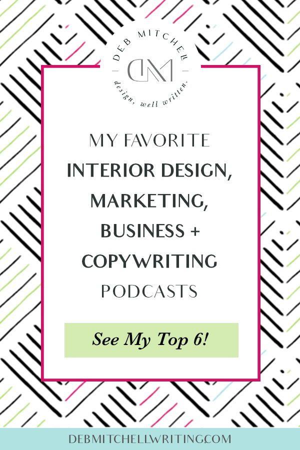 My Favorite Interior Design Marketing Business Copywriting