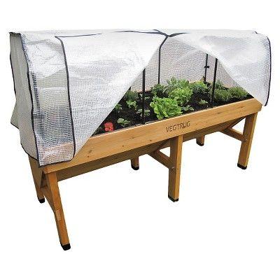 Medium Greenhouse Frame And PE Cover - VegTrug