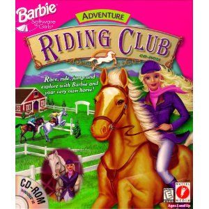 we'd spend hours on the computer with our friends playing CD-ROM's like Barbie Riding Club? :)