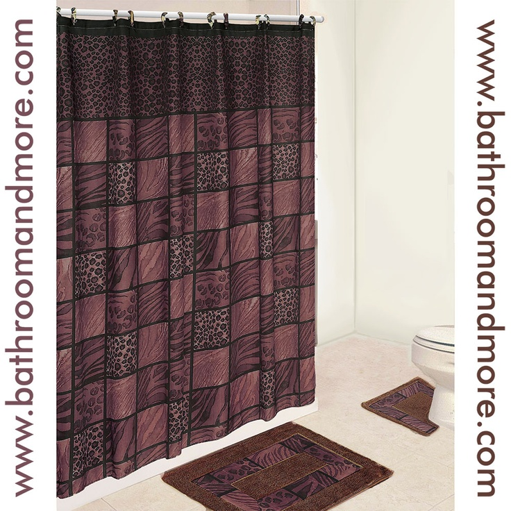 Good Zebra Print, Cheetah Print, Leopard Print All In One Wild Safari Pattern  For Your · Shower Curtain SetsFabric ...