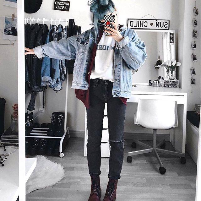 #rock #punk #metal #rockstyle #alternative #rocknroll #guitar #grunge #outfit #look #boy #hipster #goth #aesthetics #black #tumblr #creepers #tattoo #indie #choker #alien #music #dark #arcticmonkeys #smoke #teen #teenagers #sad #drmartens #pale