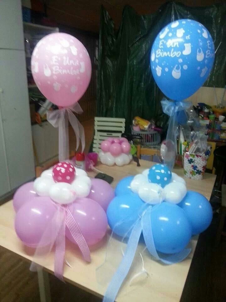 128 best baby shower images on pinterest balloon for Balloon decoration machine