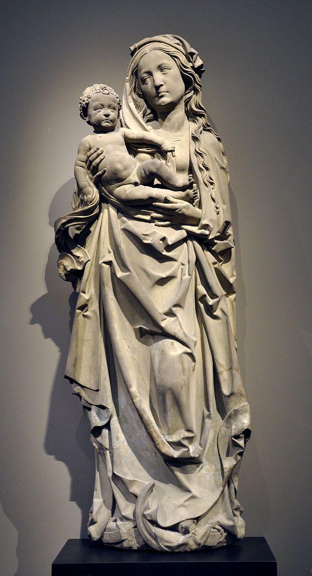 Tilman Riemenschneider Muttergottes Liebieghaus StP200 - Category:Tilman Riemenschneider - Wikimedia Commons