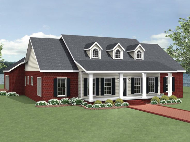 Greenbank Hill Southern Home Ranch House Plan Front of Home - 028D-0089 | House Plans and More from houseplansandmore.com