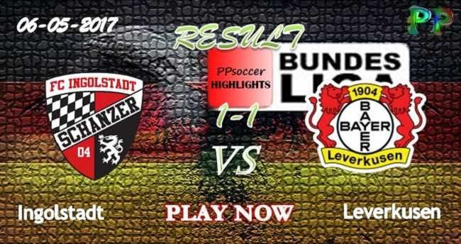Ingolstadt 1 - 1 Bayer Leverkusen HIGHLIGHTS