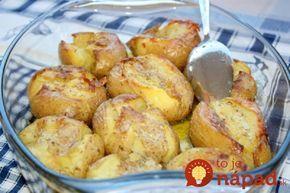 Vynikajúce k mäsku, alebo len tak . Ako vynikajúca večera. Tieto zemiaky sú také chutné, že k nim už skutočne nemusíte nič pridávať.