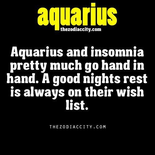 Aquarius. This makes sense! The thinker!