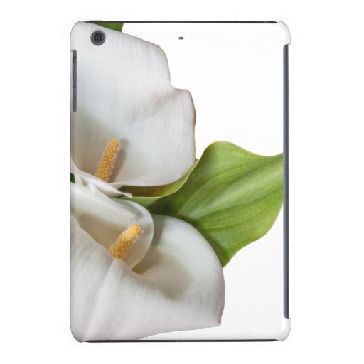 White Lily iPad mini Retina display Case