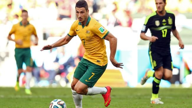 The fastest man in #Bundesliga, newly-married Matthew Leckie, says it's all thanks to #Ange.