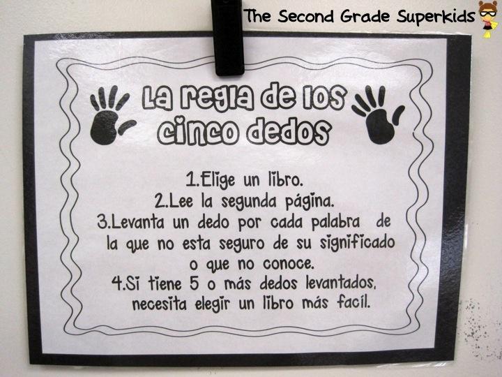 La regla de los cinco dedos