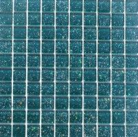 Mosaikfliese Effect Mosaik Glasmosaik Fliesen Klarglas Grün Snow 1Matte günstig online kaufen