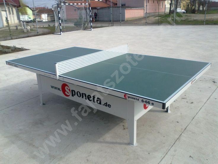 PPA kültéri ping-pong asztal fém hálóval