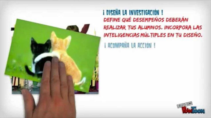 Vídeo sobre ABP que explica en 5 pasos la aplicación en el aula, elaborado por Juan José Vergara