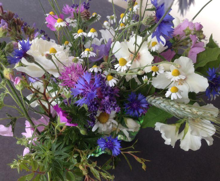 Garten-Wiesen-Blumenstrauss