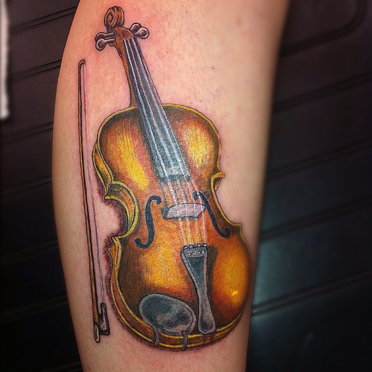 50 Best Violin Tattoo & Music Notes Images On Pinterest