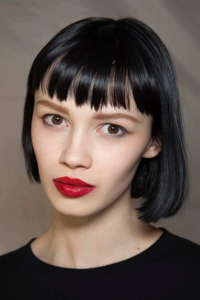 bob haircut with bang serious bangs inspiration for your next haircut bobs 2680 | c69b9288bc9bd19ad8ce1266bcf8b34d