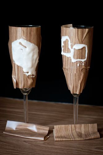 79 best decorative handmade glasses images on pinterest bride etch your own toasting flutes i want to do this looks easy and is solutioingenieria Choice Image