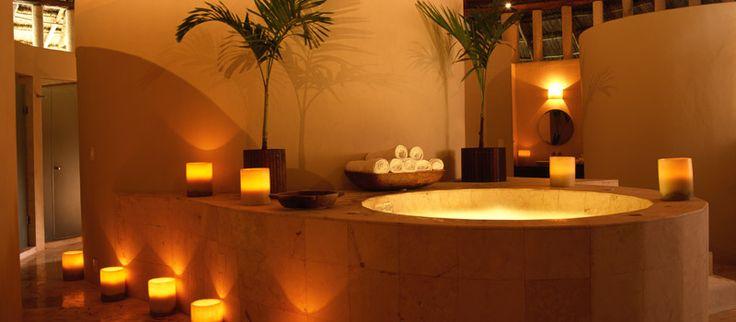 big bathroom: Dreams Spasomeday, Spa Rooms, Interiors Design, Candles, Spa Interior, Bathroom Ideas, Riviera Maya, Rooms Interiors, Spa Bathroom