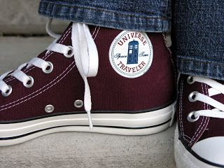 Doctor Who converse :)) This guy tells you how to make them too!!!