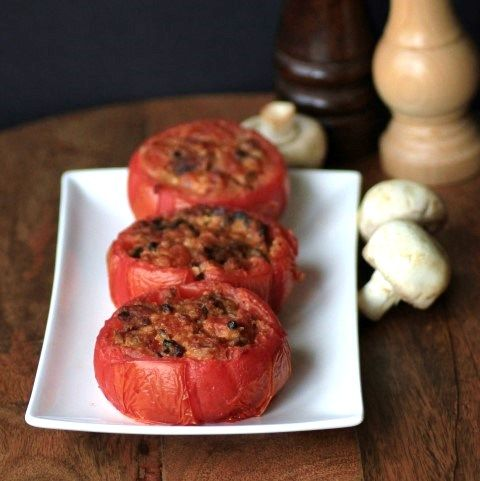 Ken loves trying new things in the smoker as you know if you follow along here. This is a perfect summer side dish when the tomatoes are fresh and full of flavor!! The smoky bacon marries so nicely with the tomato, garlic and Parmesan. They are easy to make and are cooking while you prepare... Read More »