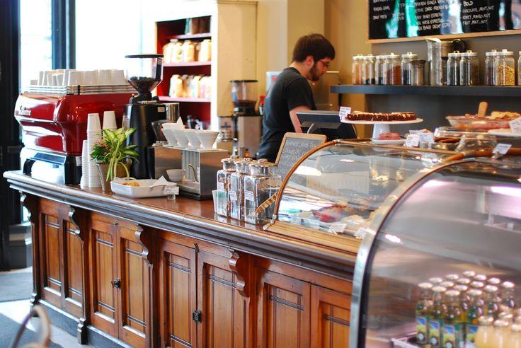 Detour Coffee Roasters Cafe in Dundas, Ontario.