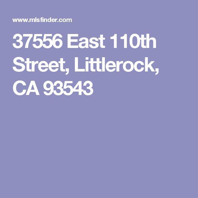 37556 East 110th Street, Littlerock, CA 93543
