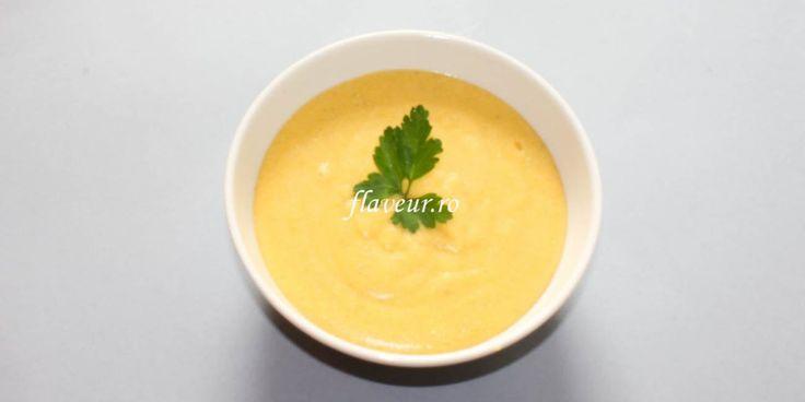 Supa crema de mei