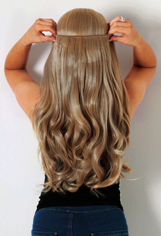Best Blonde Clip In Hair Extensions Remy Indian Hair